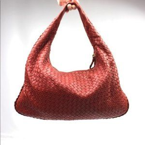 Bottega Veneta Intrecciato Napa Woven Hobo Purse